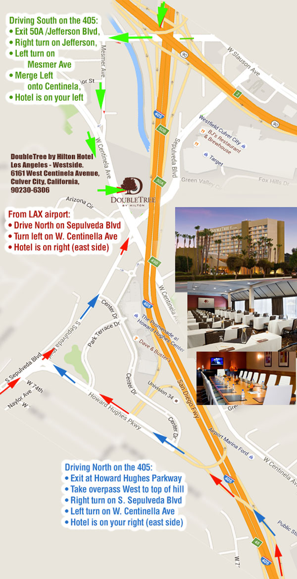 Driving Directions to Hotel – Maps and Driving Directions