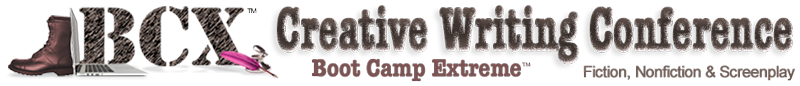 BCX Creative Writing Boot Camp Extreme