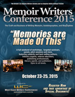 "GenreLa 2015 -""Memories are Made Of This"" for Memoir Writers"